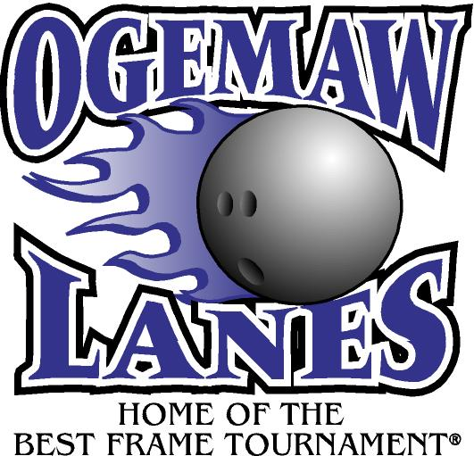 Ogemaw Lanes Logo